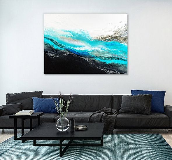 Resonant Wave Canvas Print