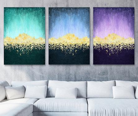 Golden Daylight - Triptych