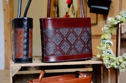 Karin, traditionelle Lederhandtasche