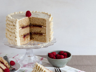 Raspberry & Earl Grey Tea Cake
