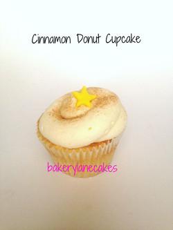 Cinnamon Donut Cupcake