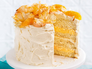 Tropical Orange Layer Cake