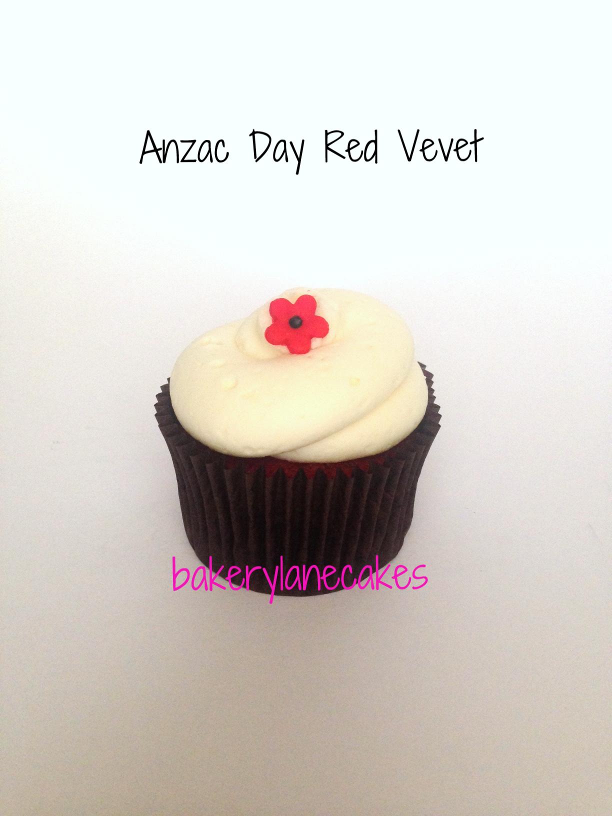 Anzac Day Red Velvet
