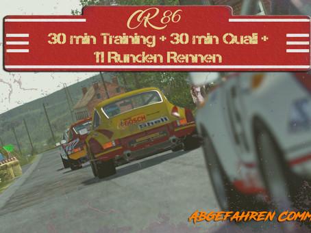 CR #86 I Porsche 911 RSR @ Spa 66 [18.01.2021]