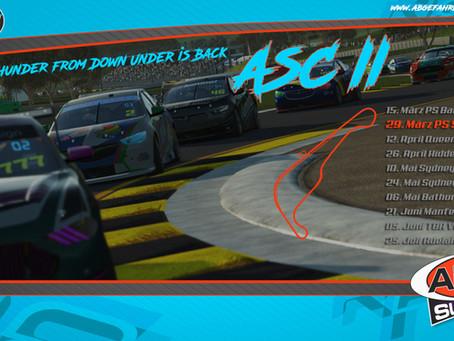 [ASC II] PreSeason 2 - Sydney Motorsports Park [29.03.2021]