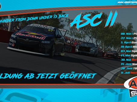 Neue rFactor2 Liga- Abgefahren Supercars Season II