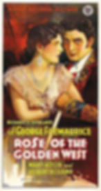 Rose of the Golden West, Granada Theater, Mary Astor, Gilbert Roland, Bluefied West Virginia
