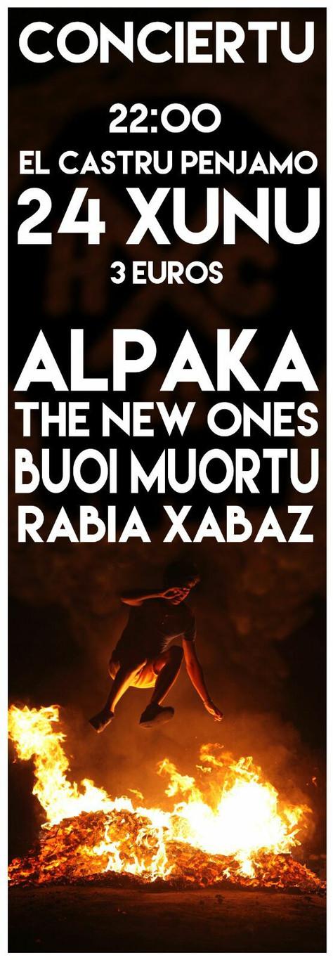 RABIA XABAZ En Concert le 24/06 à EL Castru De Pénjamo La Felguera, Spain