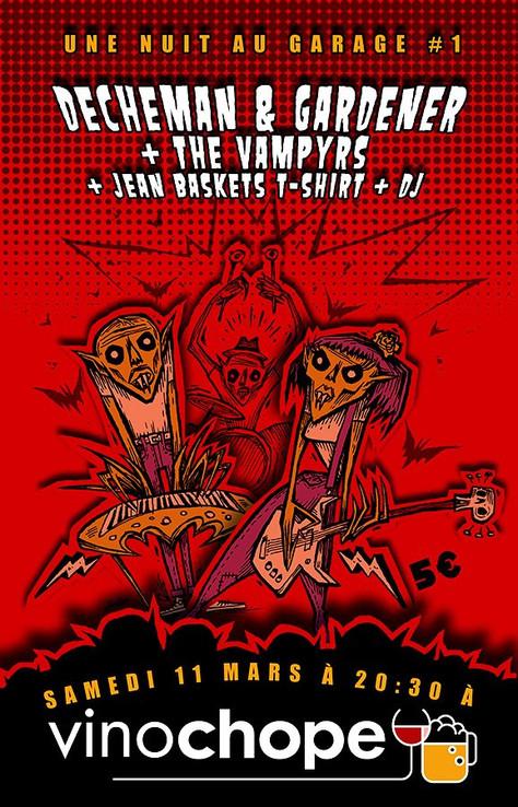 CONCERT THE VAMPYRS/Une Nuit au Garage #1