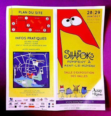 28/06 au 29/10. EXPO avec AURÉLIO. Les Shadoks Pompent à Azay-Le-Rideau.
