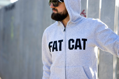 Sweat capuche zip FATCAT AUTHENTIC