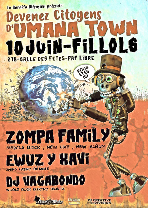 CONCERT ZOMPA FAMILY 10/06