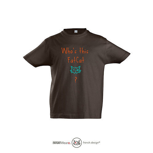 T-shirt FATCAT SERIES KID