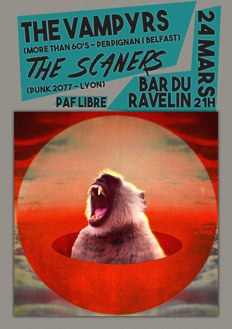 CONCERT THE VAMPYRS/The Scaners
