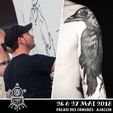 26/05 au 27/05 Aurélio au Corsica Tattoo Fest, Ajaccio (Corse).