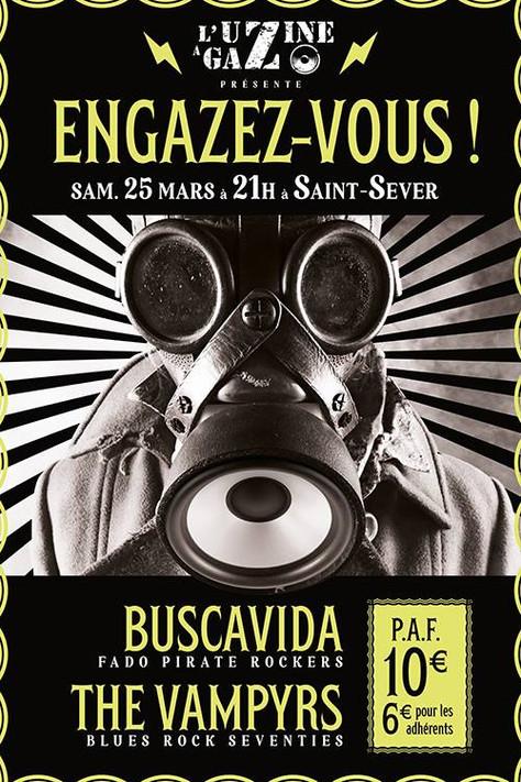 CONCERT THE VAMPYRS/Buscavida