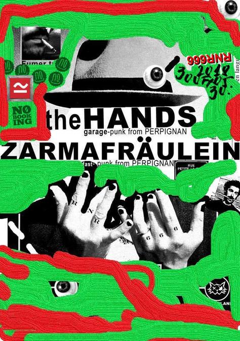 30/05/18, Live Zarma Fräulein / the Hands au Szabadkikötő, Pécs (Hongrie).