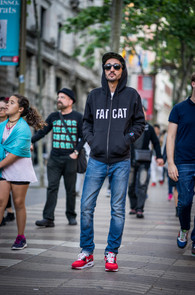 Sweat capuche zip FATCAT N.O.S.