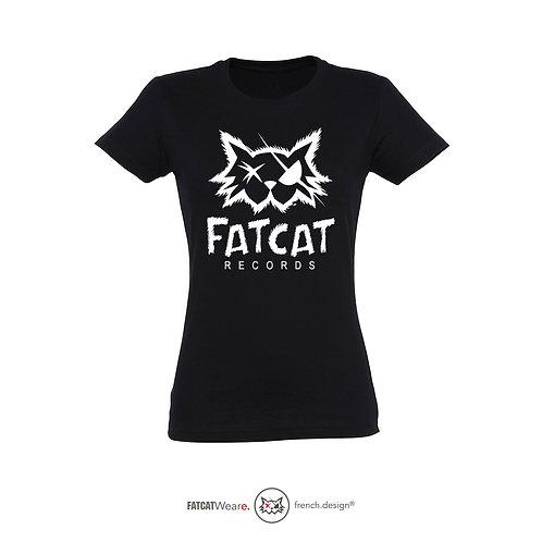 T-shirt FATCAT OLD SCHOOL GIRL