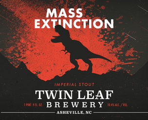 Twin Leaf Collaborates with Asheville Museum of Science to Release Mass Extinction Imperial Stout