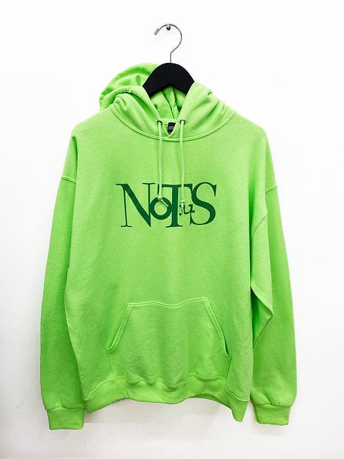 Not.US® Fluxus Hoodie - Lime/Mystic Green