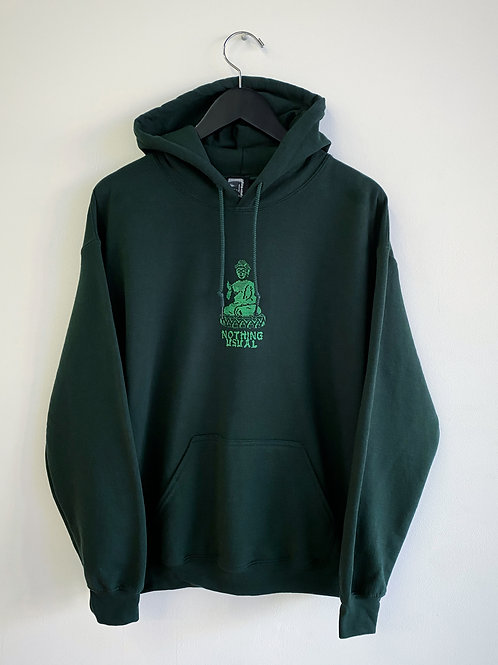 Nothing Usual® Collection - Dharma Hoodie - Forest Green