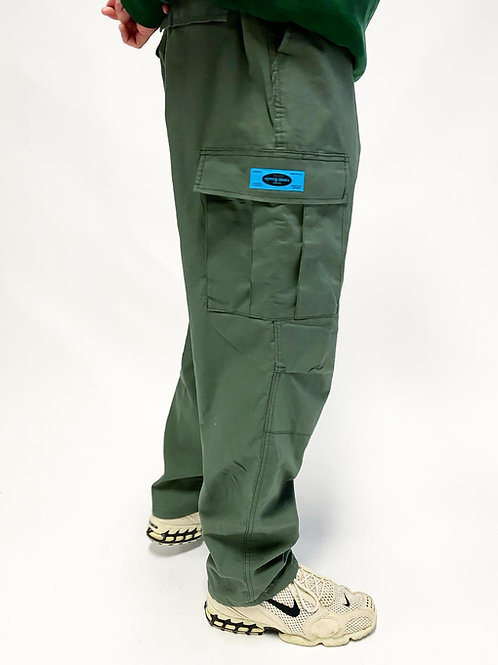 Nothing Usual® Collection - Rip Stop Cargo Pants. (Green)