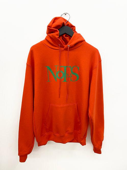 Not.US® Fluxus Hoodie - Orange/Mystic Green