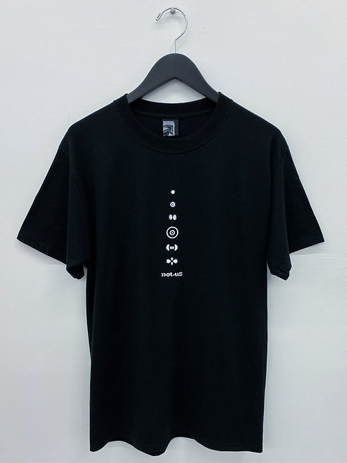 Not.US® Quantum Tee - Black/White