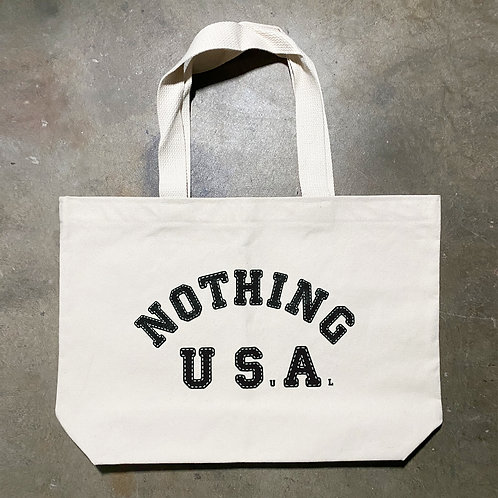 Nothing Usual® Collection - USA Tote Bag - Natural/Black