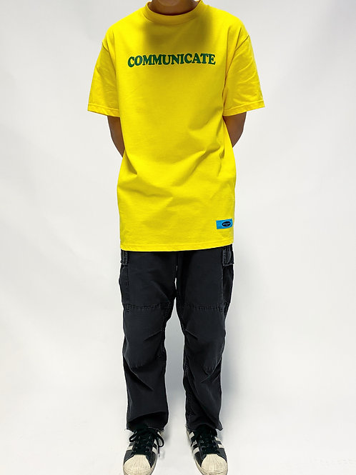 Nothing Usual® - Communication Tee - Yellow