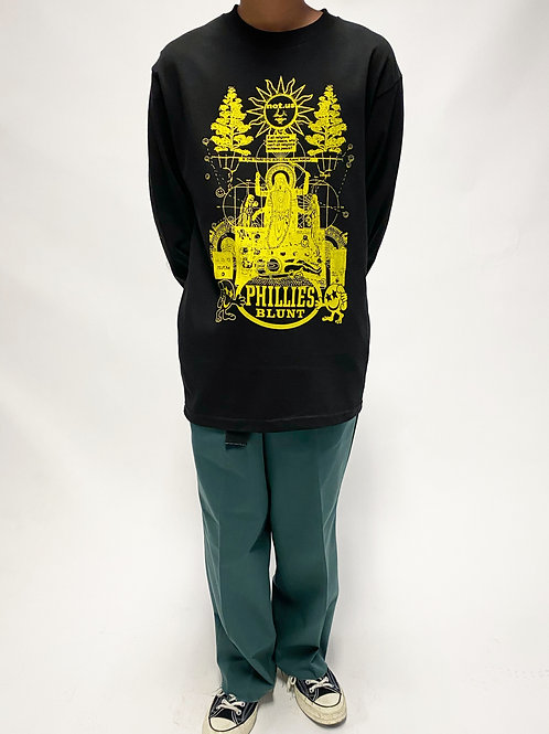 Not.US® Divine Mother Long Sleeve - Black/Yellow
