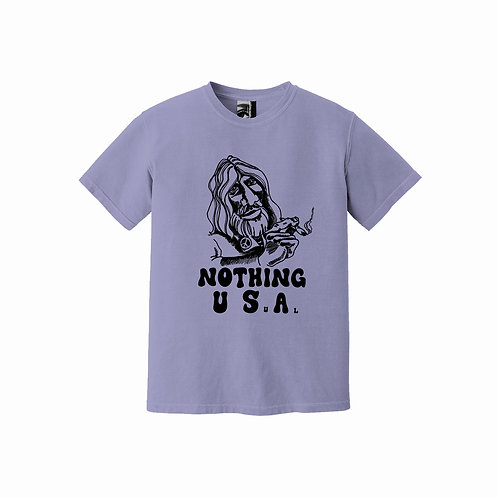 Nothing Usual® - 'HEY MAN' Tee - Natural Wine