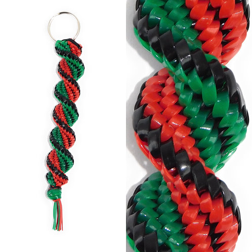 Black, Green & Red KeyChain
