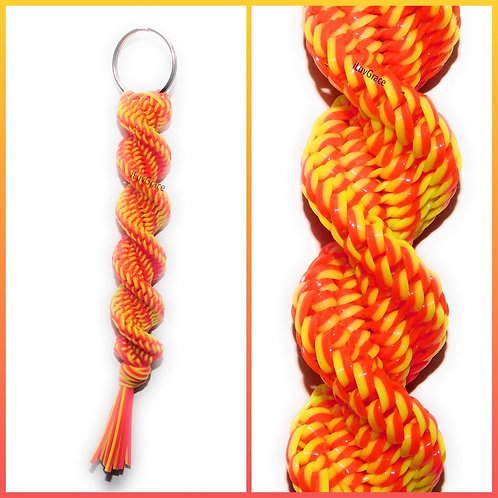 Orange/Yellow Keychain ~ #UnityKeychain ~