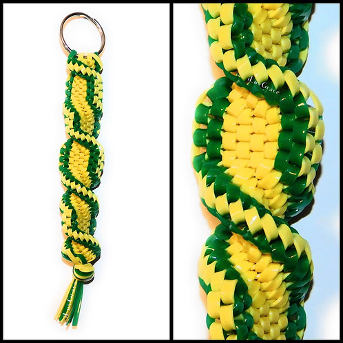 Yellow & Green Keychain