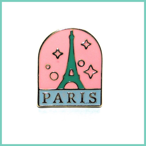 Paris Enamel Pin