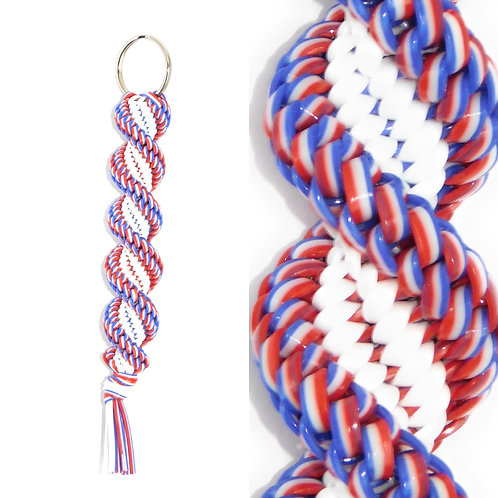 Red, White & Blue KeyChain