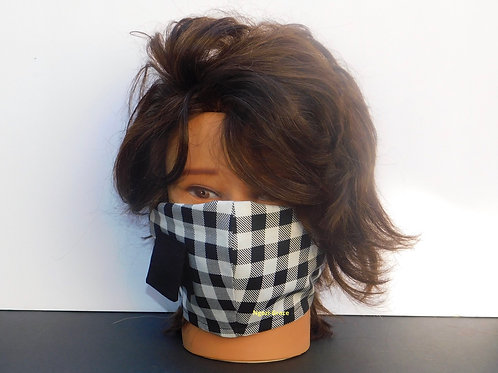 Handmade Mask with Straw Access Pocket