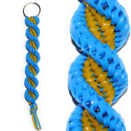 Blue & Golden KeyChain