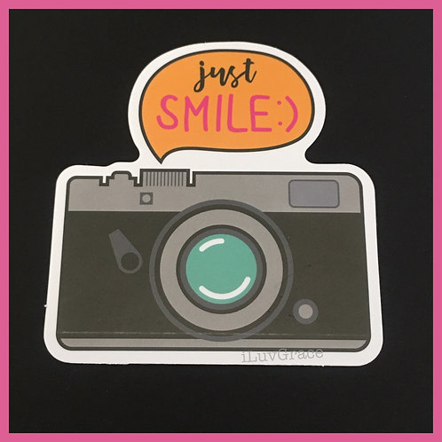 Just Smile Camera ~ Sticker ~