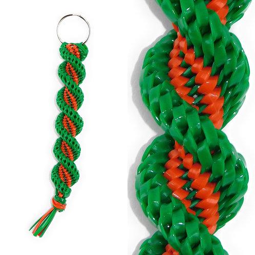 Green & Orange KeyChain