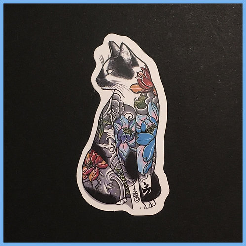Sticker ~ Tattoo Kitty ~