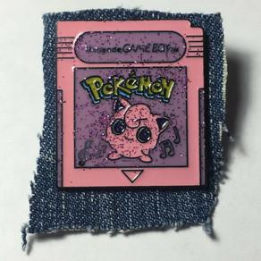 Jiggly Puff Nintendo Game Enamel Pin