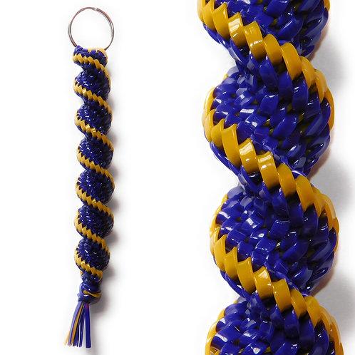 Purple & Golden KeyChain