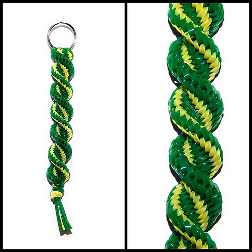 Green & Yellow Keychain