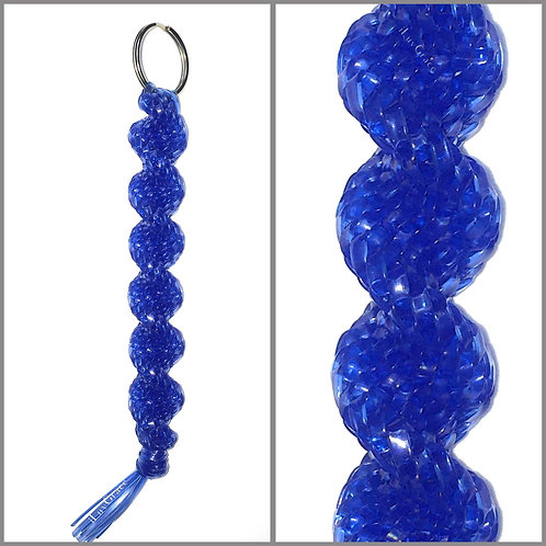 Clear Blue KeyChain