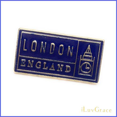 Enamel Pin ~ London England ~