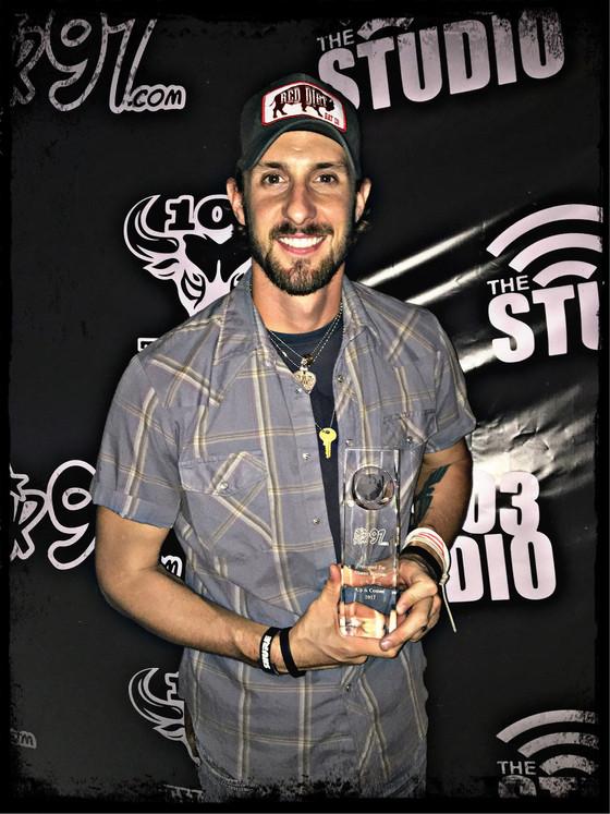 TVO Member receives Big Star Up and Comer 2017 Award!