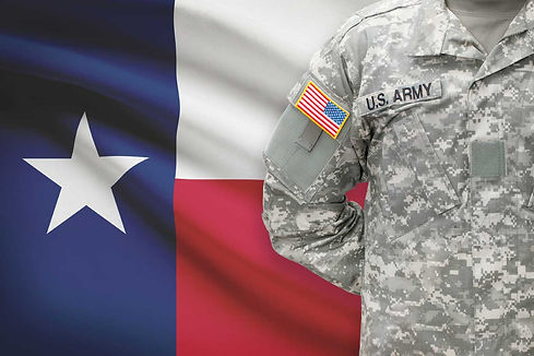 US Army represeting in Texas